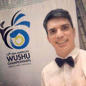 Prof. Pablo - Juiz em Campeonato Panamericano