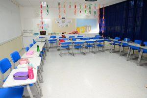 Sala de aula - Bilíngue